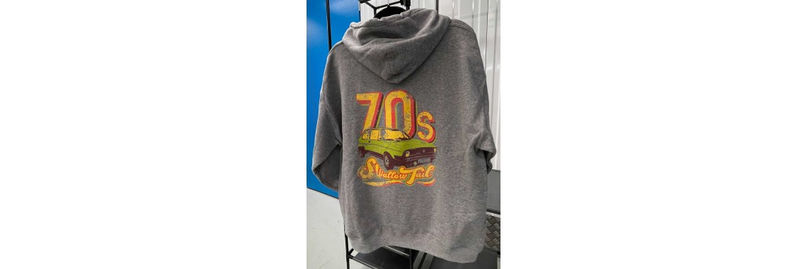 70's Swallowtail Pullover Hoody