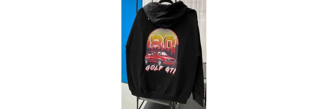 80 Golf GTI Zipped Hoody