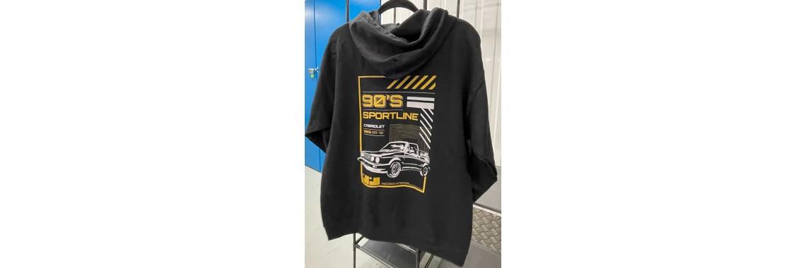 90's Sportline Pullover Hoody