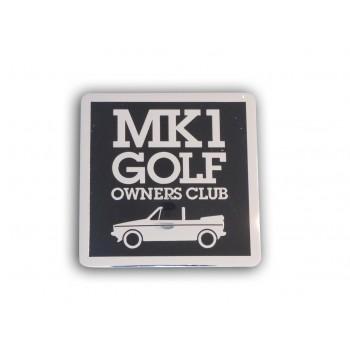 Cabriolet Grill Badge