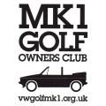 Mk1 Golf Owners Club Cabriolet Logo Sticker