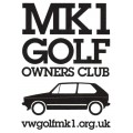 Mk1 Golf Owners Club TinTop Logo Sticker